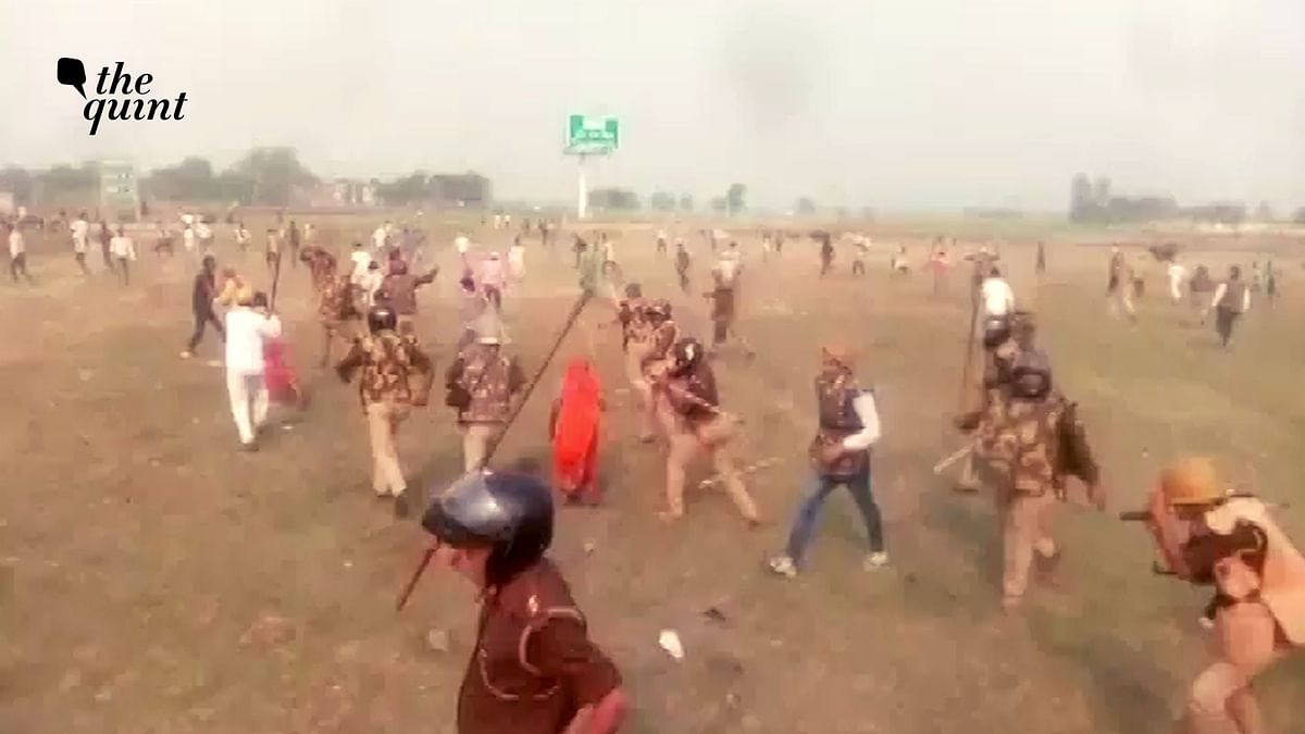 Violence in Unnao as Farmers Protest over Compensation for Land