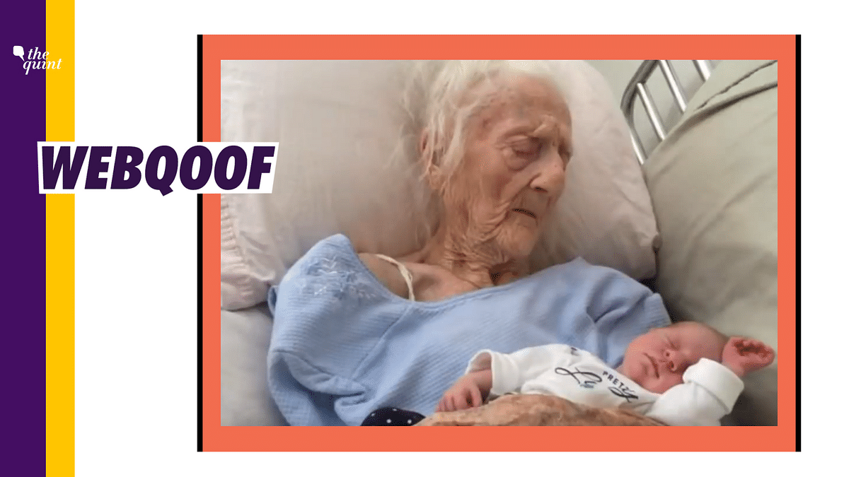 101-Year-Old Gives Birth? No, That's Her Great-Granddaughter
