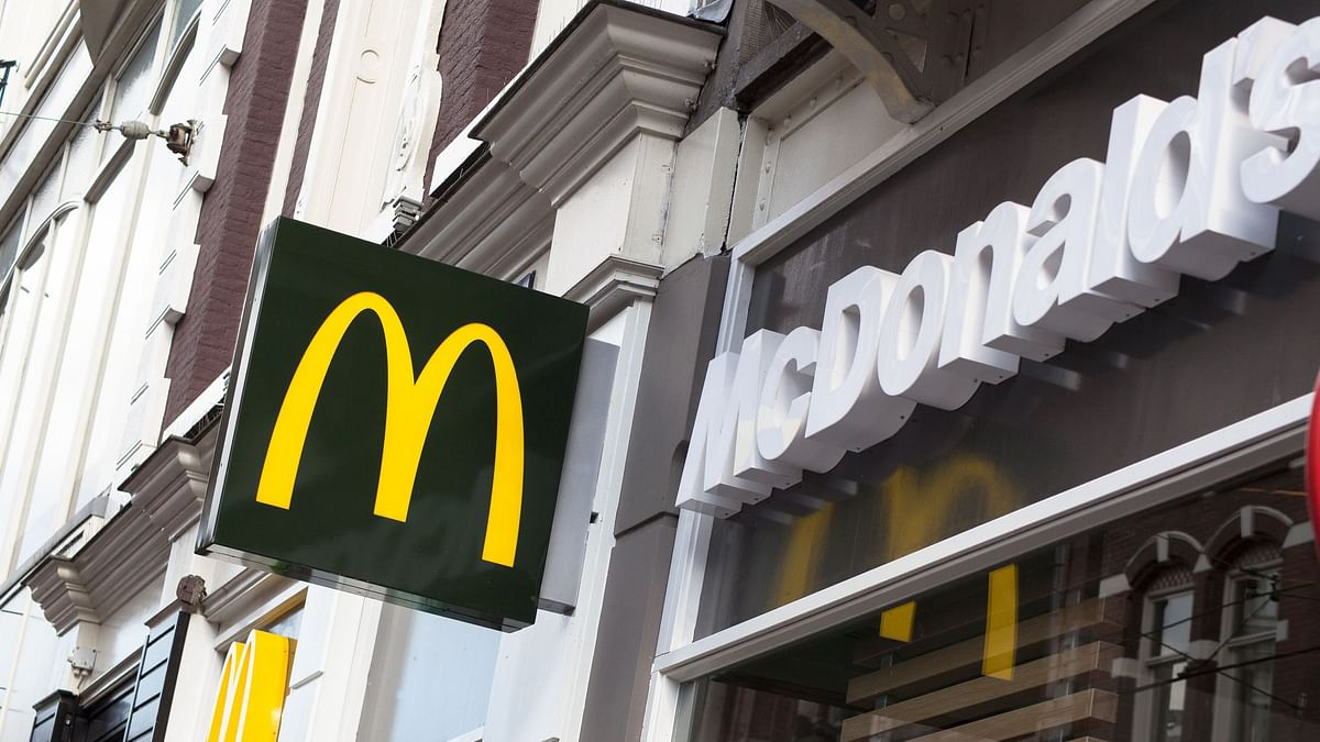 McDonald's shares dropped 3 percent on Monday, 4 November.
