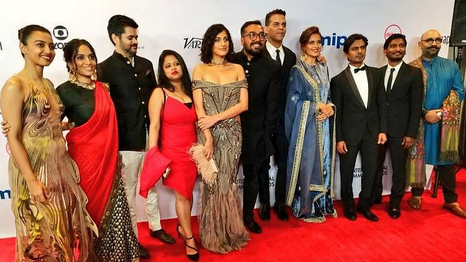 Teams Lust Stories, Sacred Games Dazzle at Int'l Emmys Red Carpet