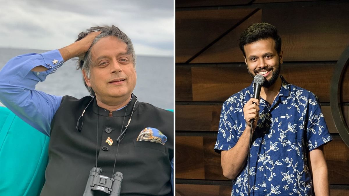 Here's How Sapan Verma Got Shashi Tharoor to Try Stand up Comedy