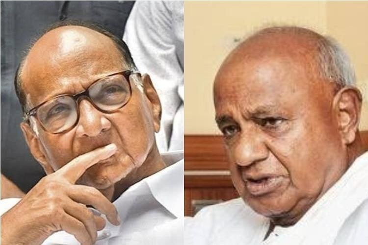Denial of Pawar on 'Coup' Similar to What Deve Gowda Did in 2006