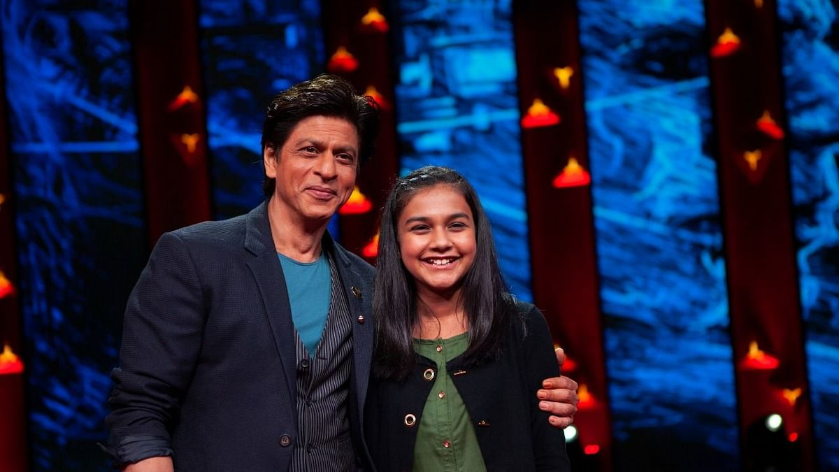 Our Future is Safe in Your Hands: SRK to 13-Yr-Old Gitanjali Rao