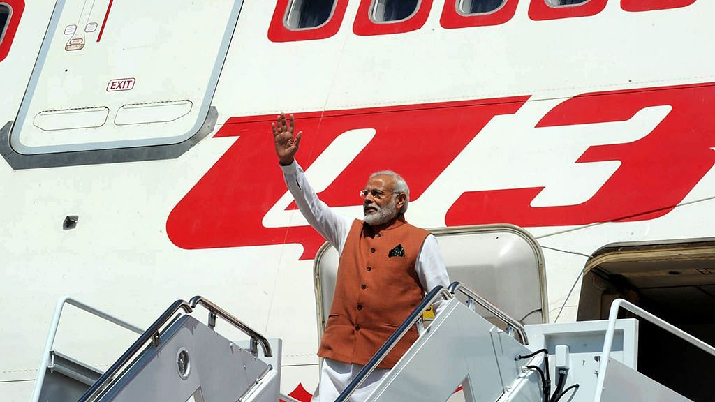 255 Cr Spent on Flights for PM's Foreign Engagements in 2016-19