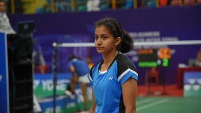 Cairo: Indian badminton player Rituparna Das at the Egypt International 2019 in Cairo on Oct 20, 2019. (Photo: IANS)