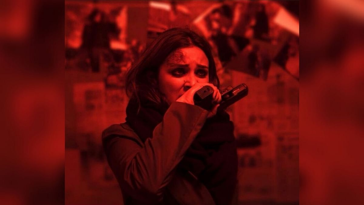 Parineeti Chopra in a still from the Bollywood remake of&nbsp;<i>The Girl on the Train</i>.&nbsp;