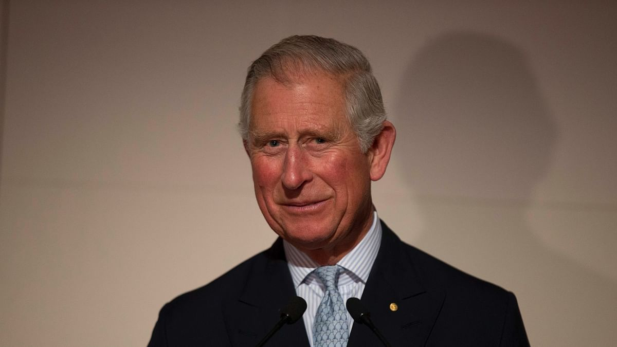 Prince Charles of Wales.