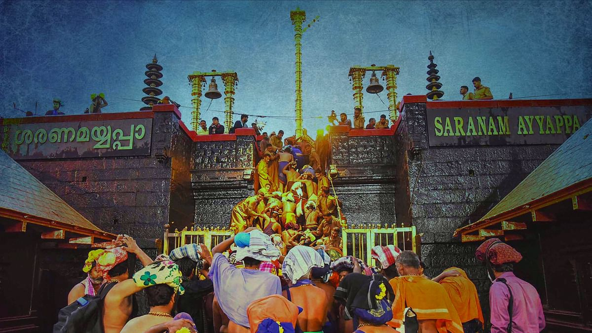 Not Discussing Issue of Women's Entry in Sabarimala Temple: SC