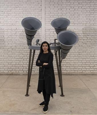 Reena Kallat chronicles globe