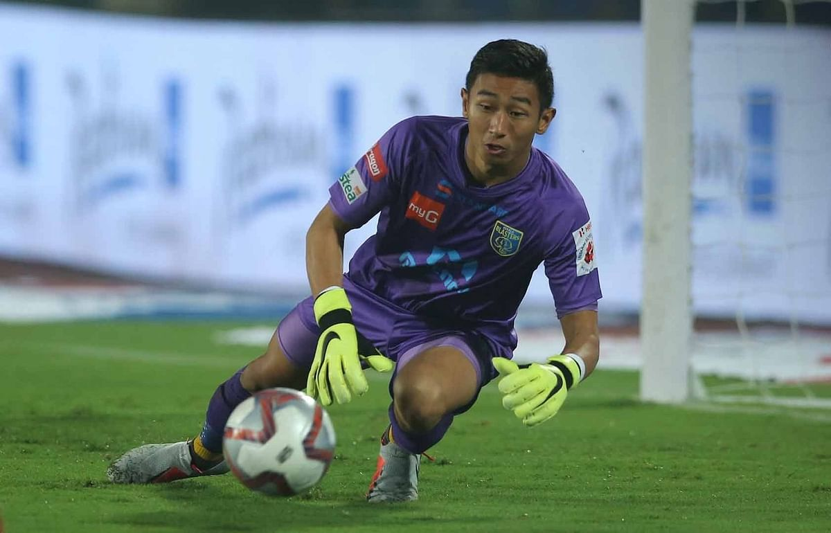 Dheeraj played 13 league matches for the Kerala Blasters in the Indian Super League.