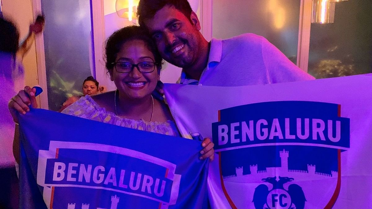 Bengaluru FC Welcomes Pregnant Fan to the Owner's Box