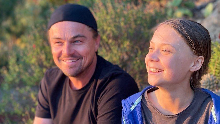 A Leader of Our Time: Leonardo DiCaprio Commends Greta Thunberg