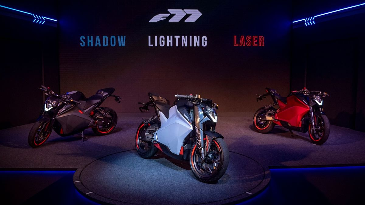 Ultraviolette F77 Electric Bike Unveiled: Claims 147 Kph Top Speed