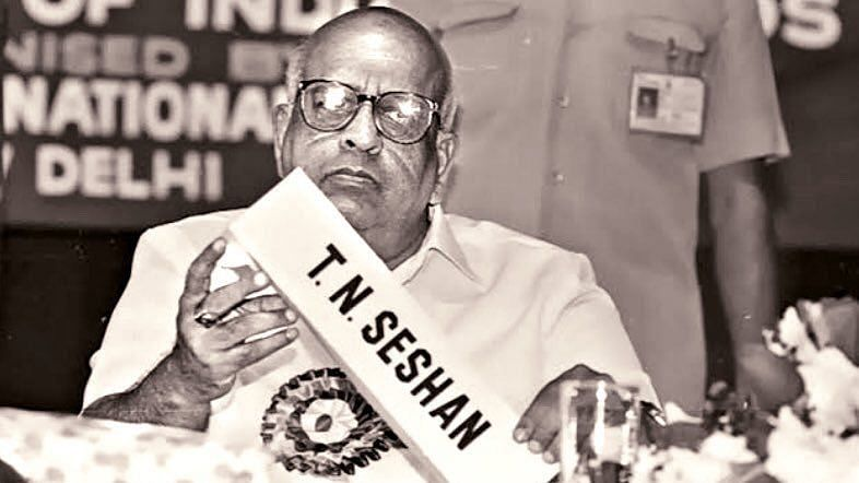 Ex-CEC Tirunellai Narayana Seshan died of cardiac arrest in Chennai.
