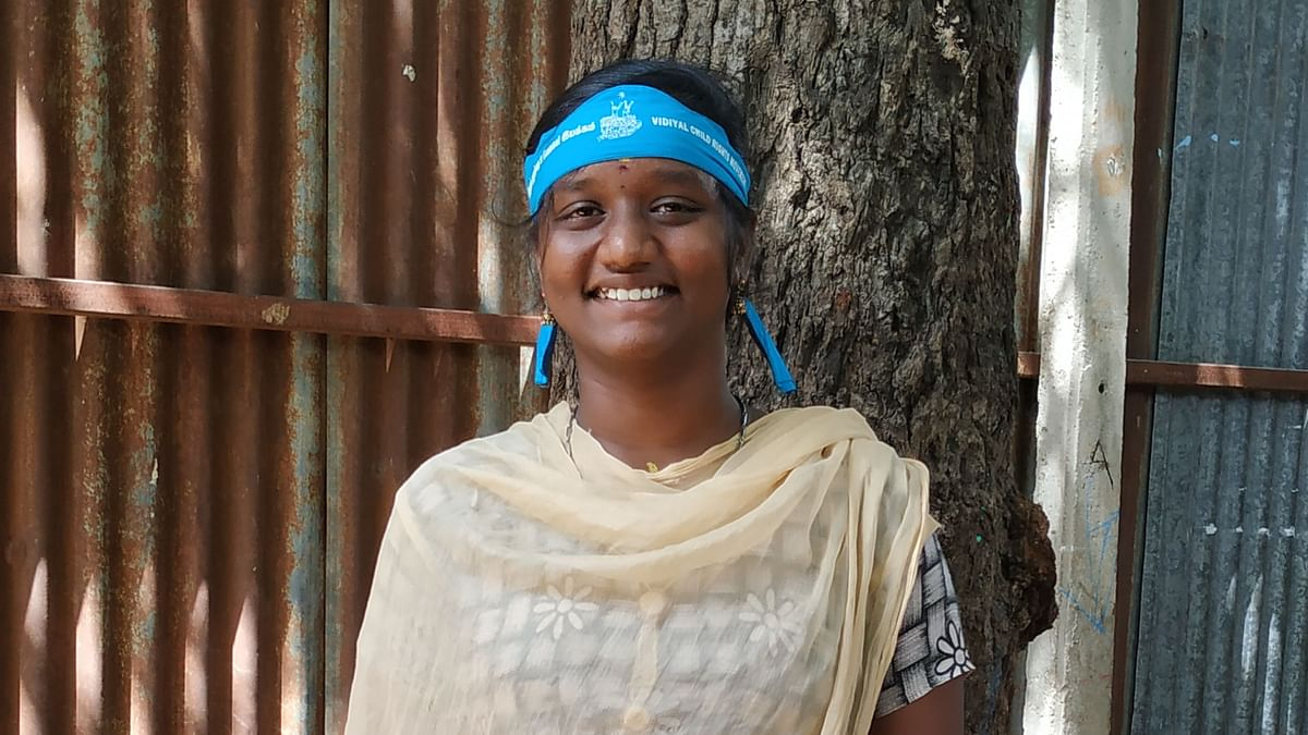 Sangeetha aspires to join the Indian Administrative Service (IAS) someday.