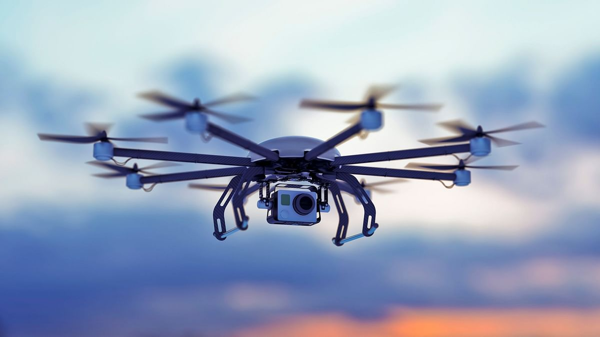 The drones can be equipped with thermal imaging hardware to detect people with high temperature.
