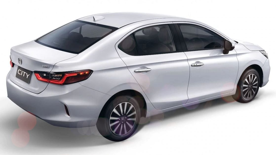 The new Honda City is slightly lower in height, but about 100 mm longer than the present car.