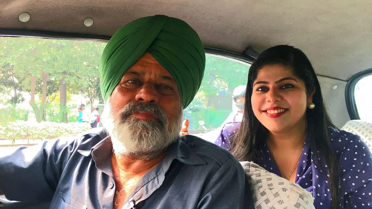 Jeet Singh is a cab driver in Delhi.