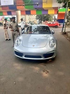 Porsche owner slapped 9.8 lakh fine in Ahmedabad