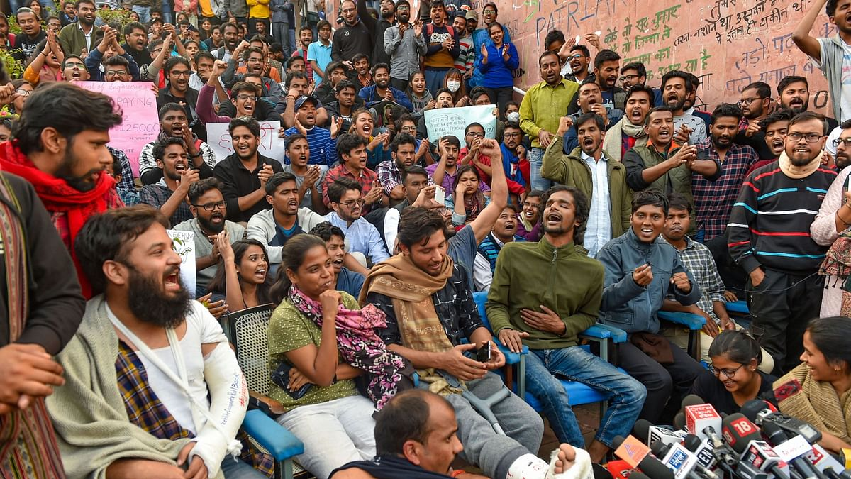 Beaten But Not Broken, JNU Students Call Out Bias in Media