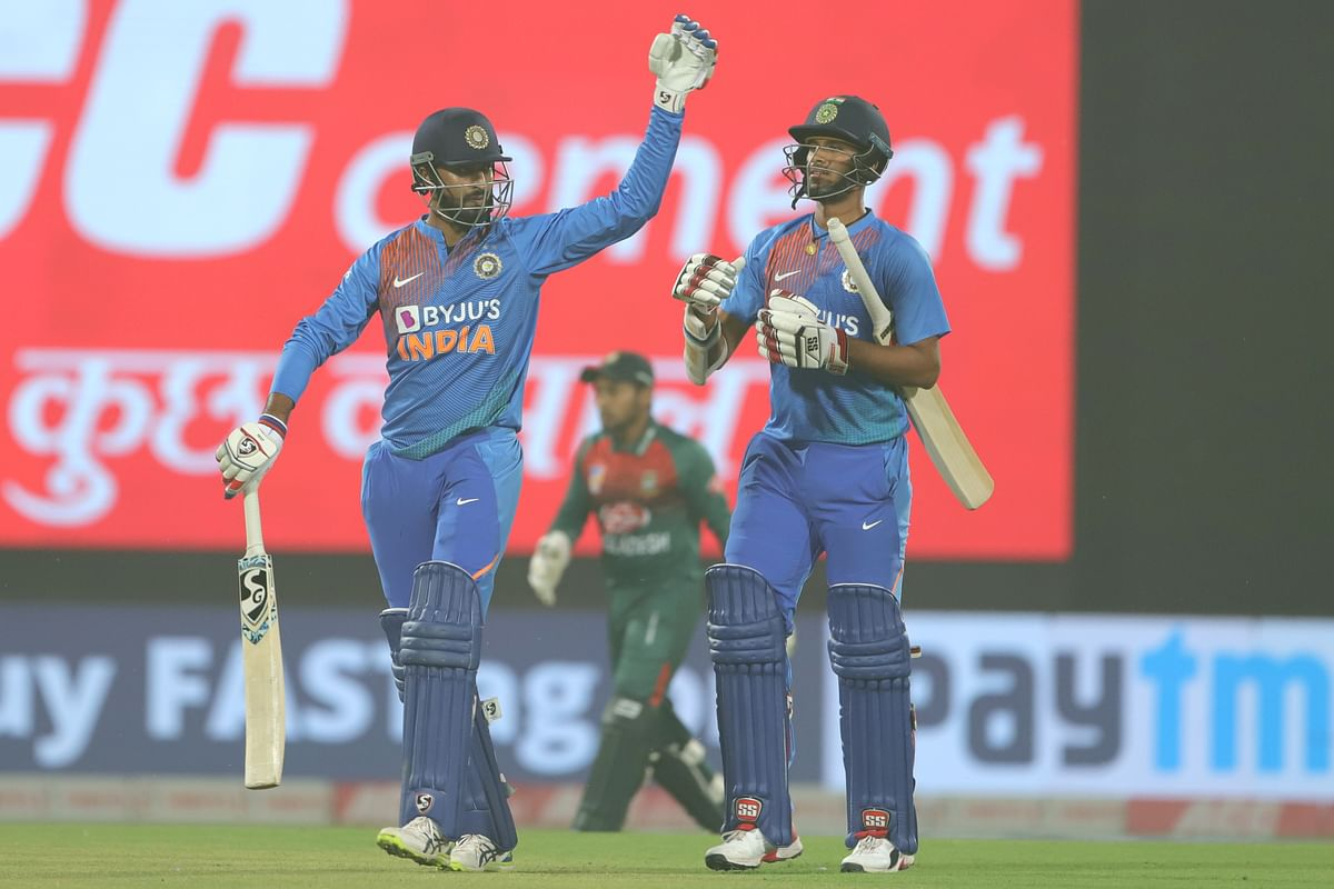 The unbroken partnership of 28 between Krunal Pandya and Washington Sundar is an Indian record for the seventh wicket against Bangladesh in T20Is.
