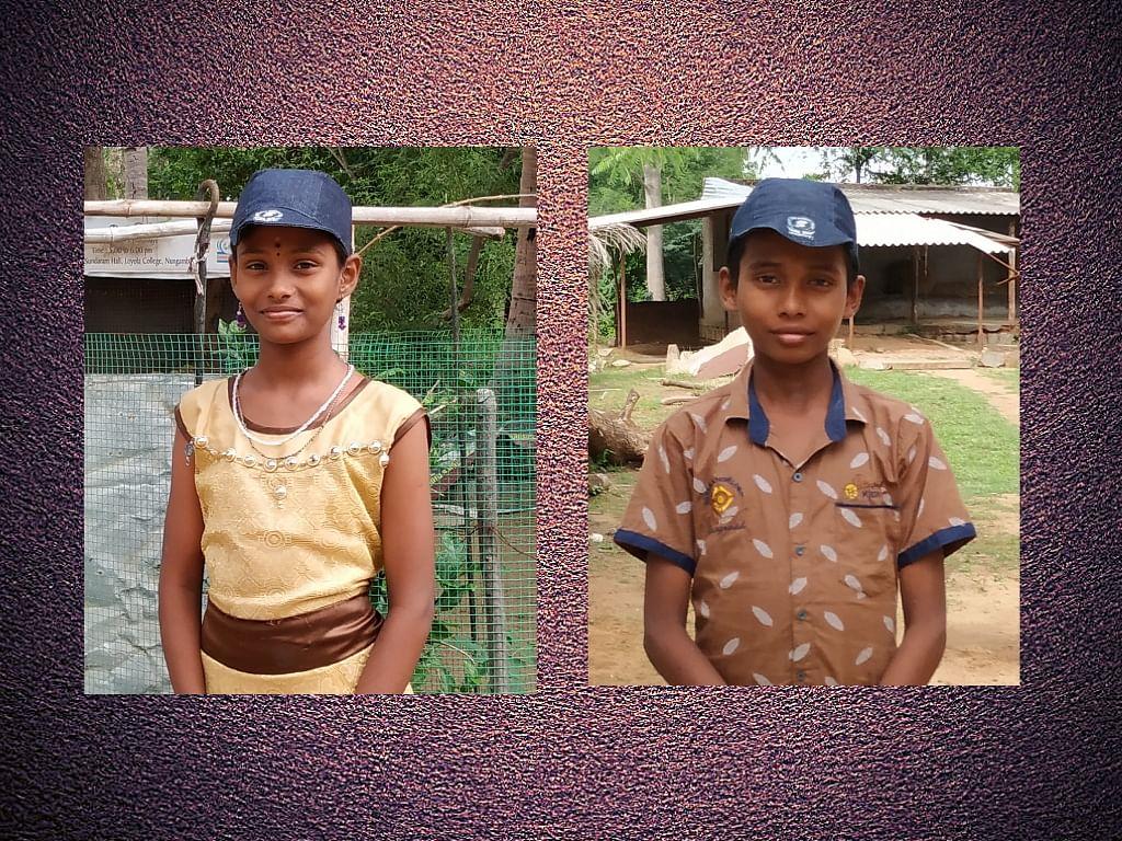Meet the dynamic brother-sister duo: Vinod and Vinodhini.