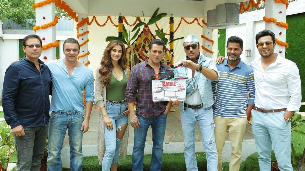 Salman Khan and team start shooting for <i>Radhe: Your Most Wanted Bhai.&nbsp;</i>