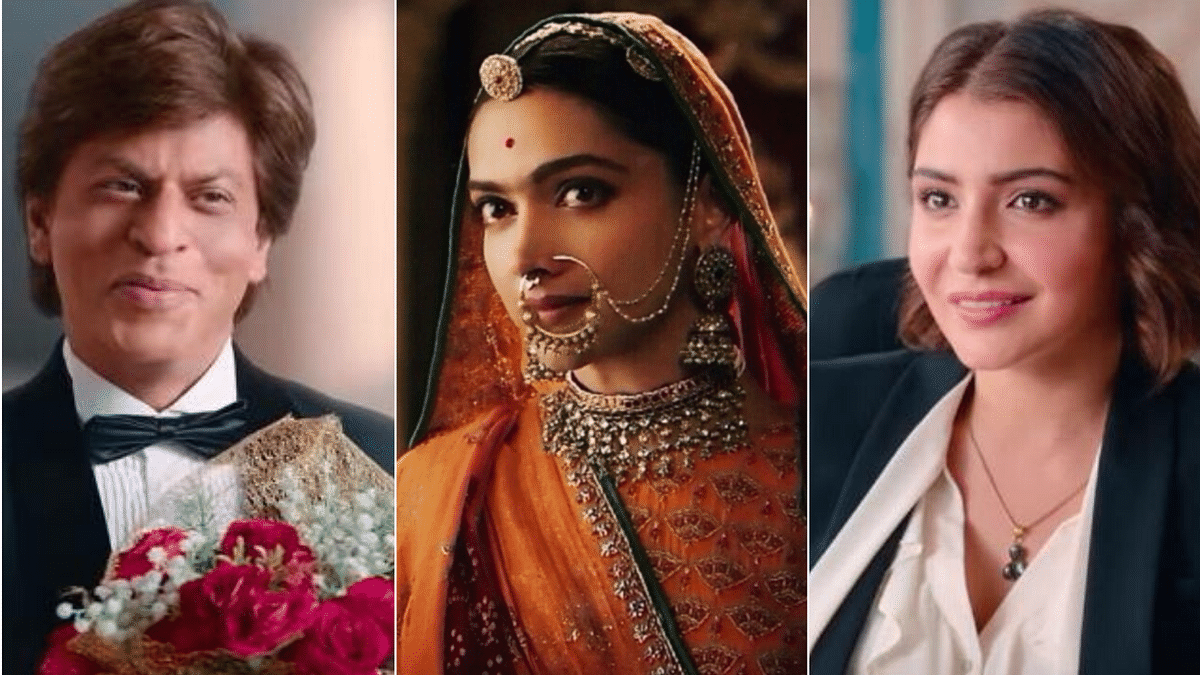 SRK, Deepika and Anushka were absent from the big screen in 2019.
