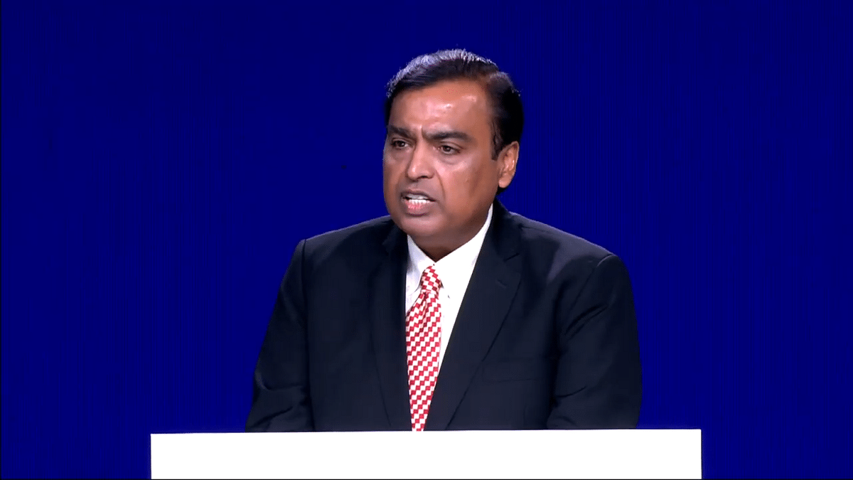 File image of Mukesh Ambani, Chairman of Reliance Industries Ltd.