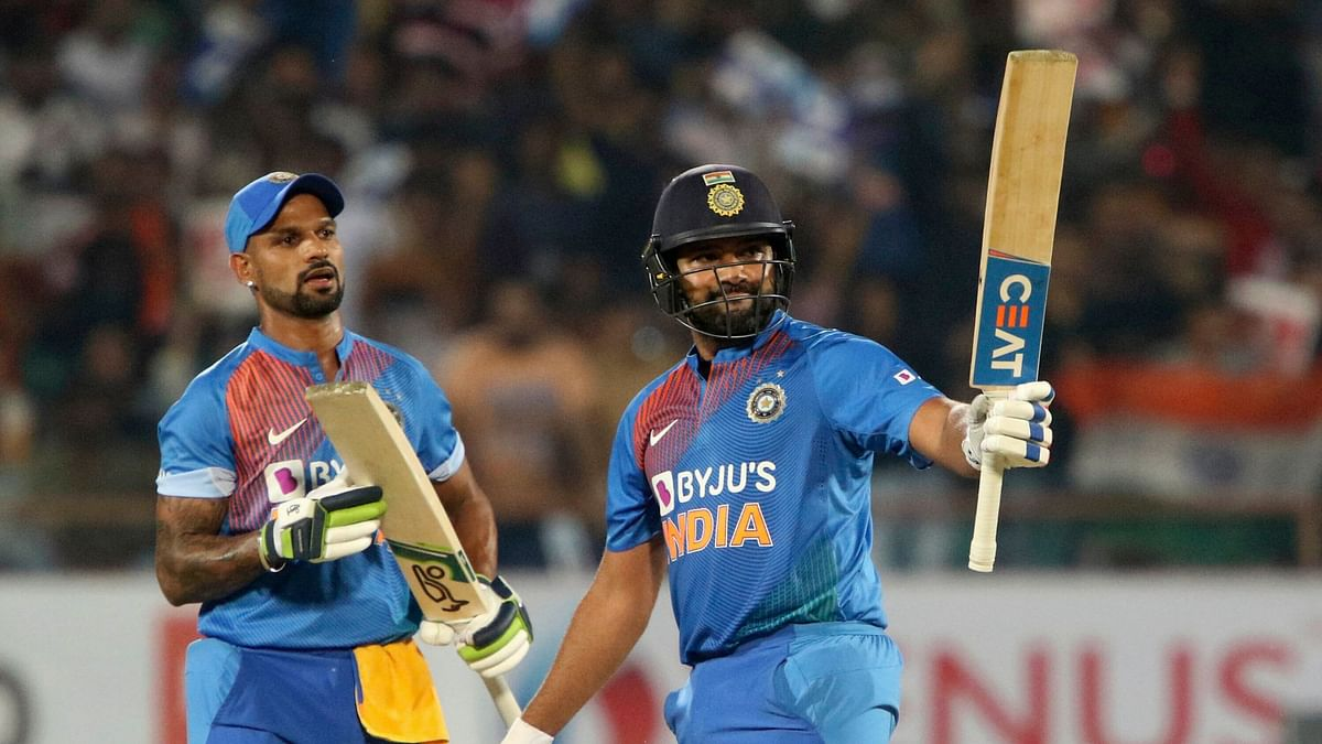 Captain's Knock! Rohit's 85 Guides India to 8 Wkt Win Over B'desh