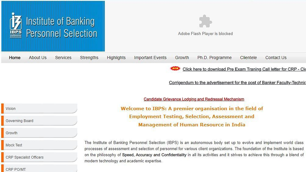 IBPS Clerk 2019 PET Admit Card Released; Check Details Here