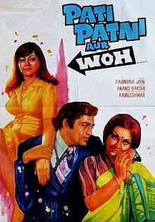 Poster of <i>Pati Patni Aur Woh</i>