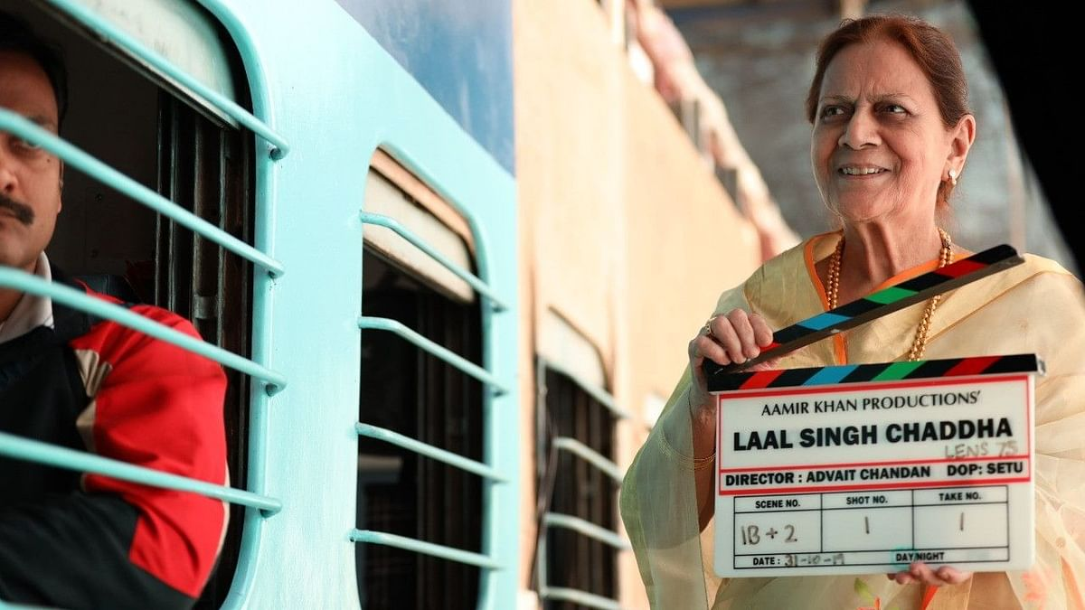Aamir's Mom Gives Mahurat Clap as Laal Singh Chaddha Shoot Begins