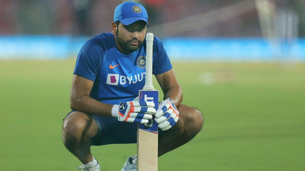 File photo of Rohit Sharma.