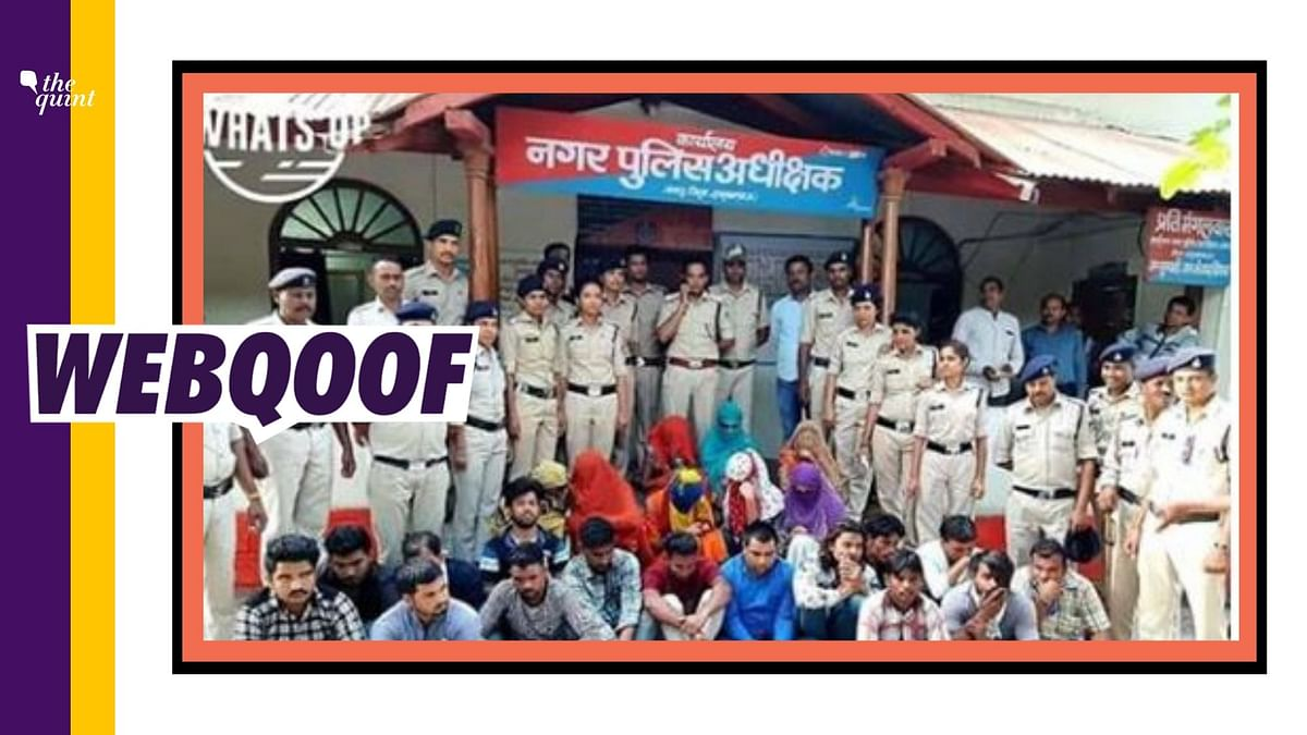 No, These Are Not Allahabad Univ Students Held for Making Bombs