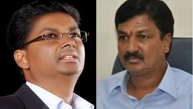 Satish (L) and Ramesh Jarkiholi
