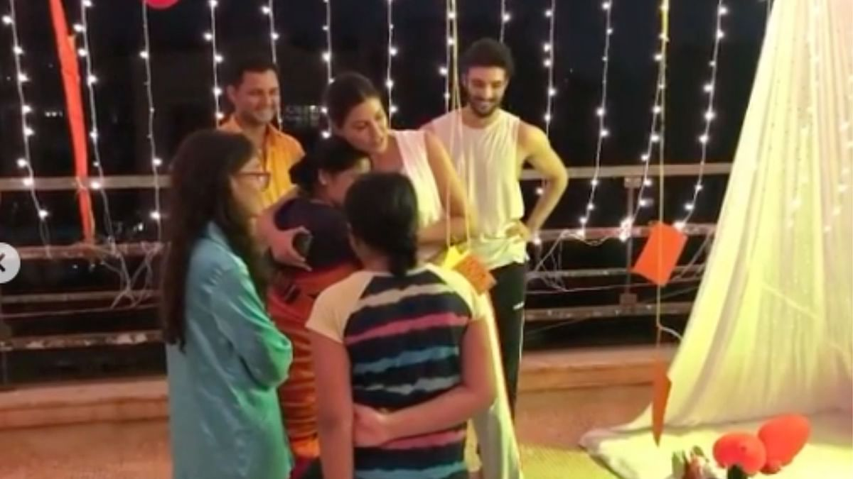 Watch: Inside Videos From Sushmita Sen's B'day Celebrations