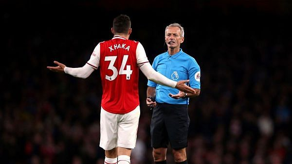 Granit Xhaka Stripped of Arsenal Captaincy After Fan Feud Row
