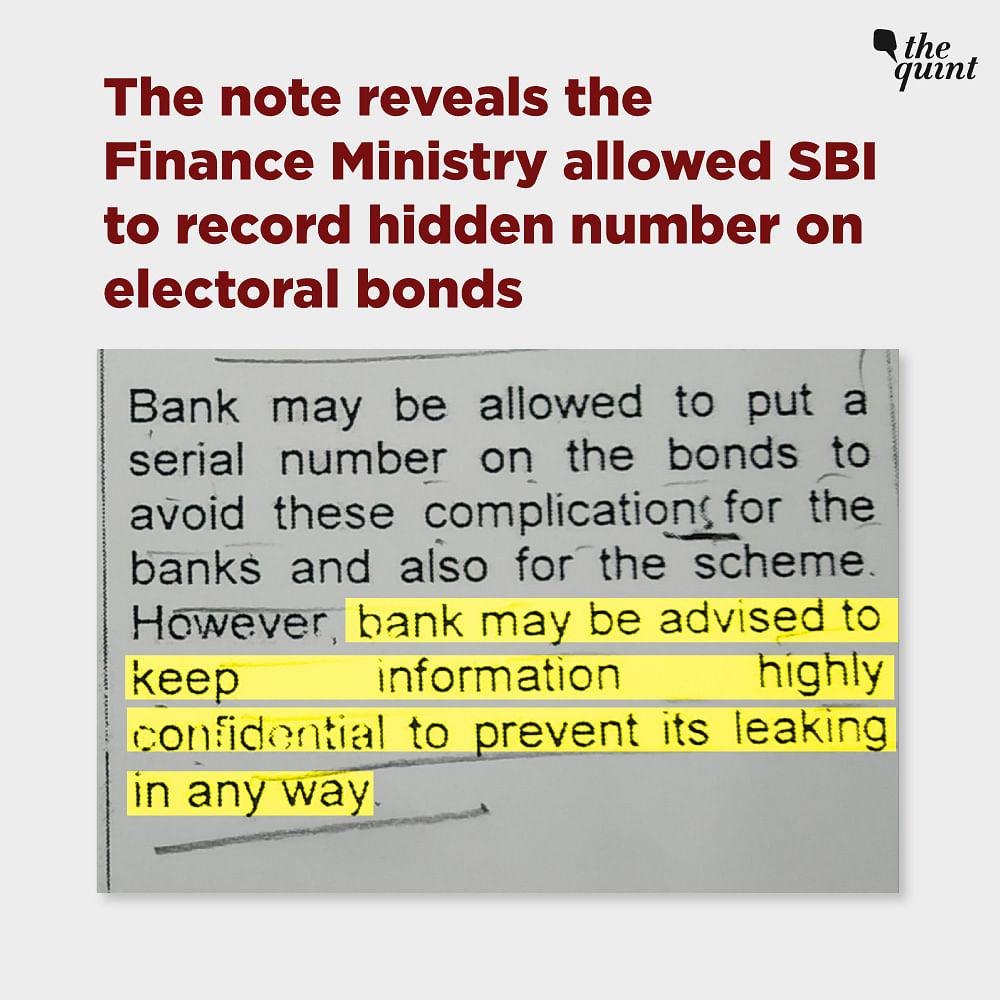 RTI replies on electoral bonds received by transparency activist Anjali Bharadwaj