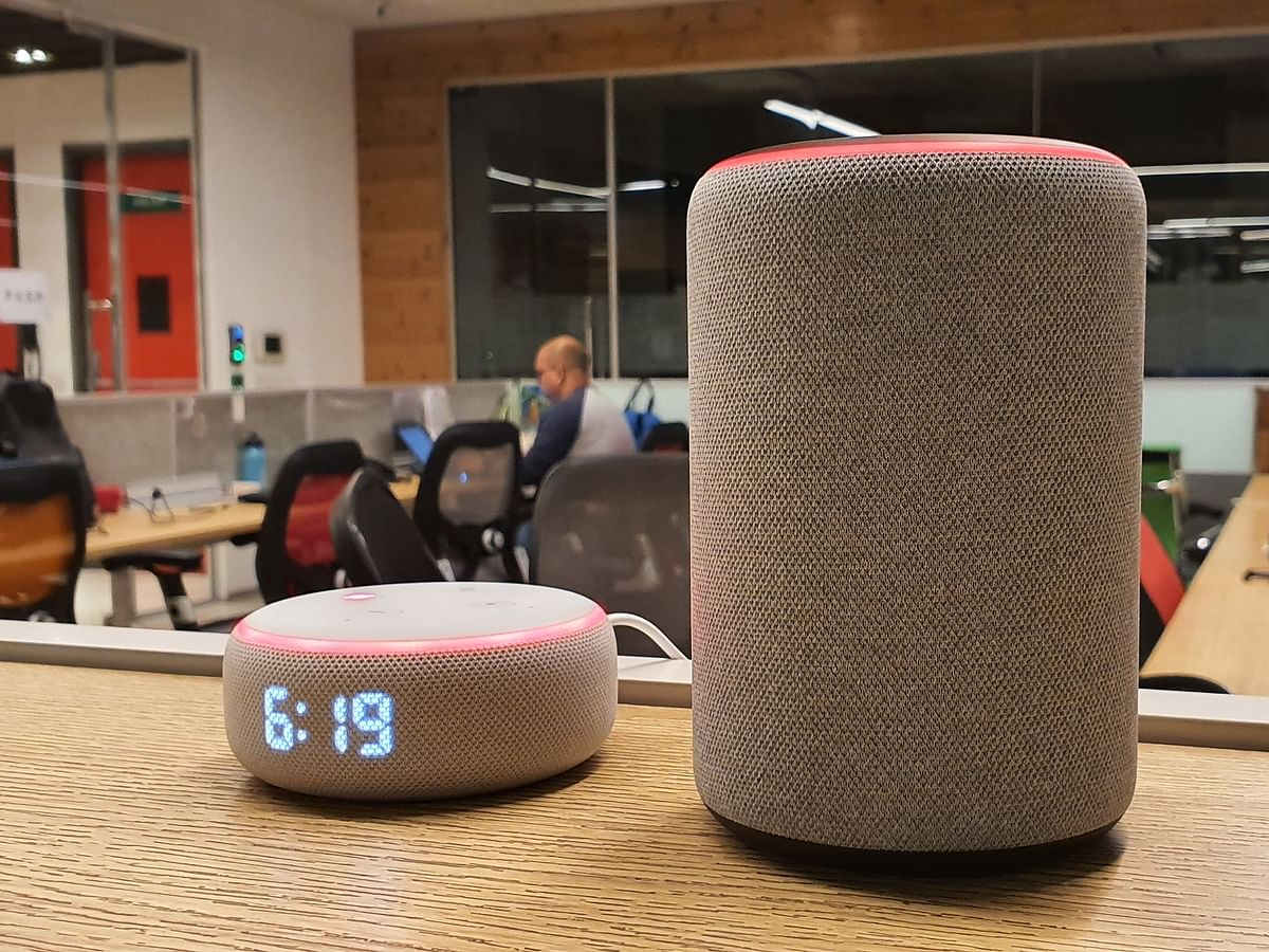The new Echo sports the same design as the 2nd gen device.