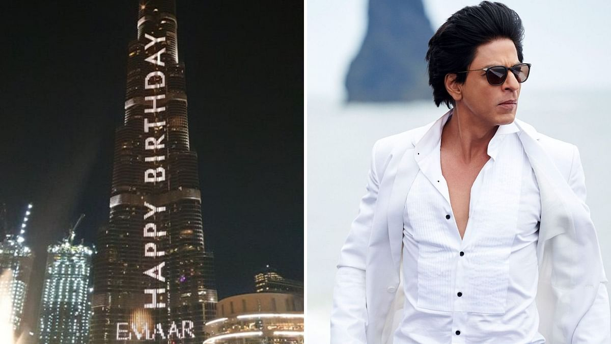 Shah Rukh Khan gets a special birthday message.