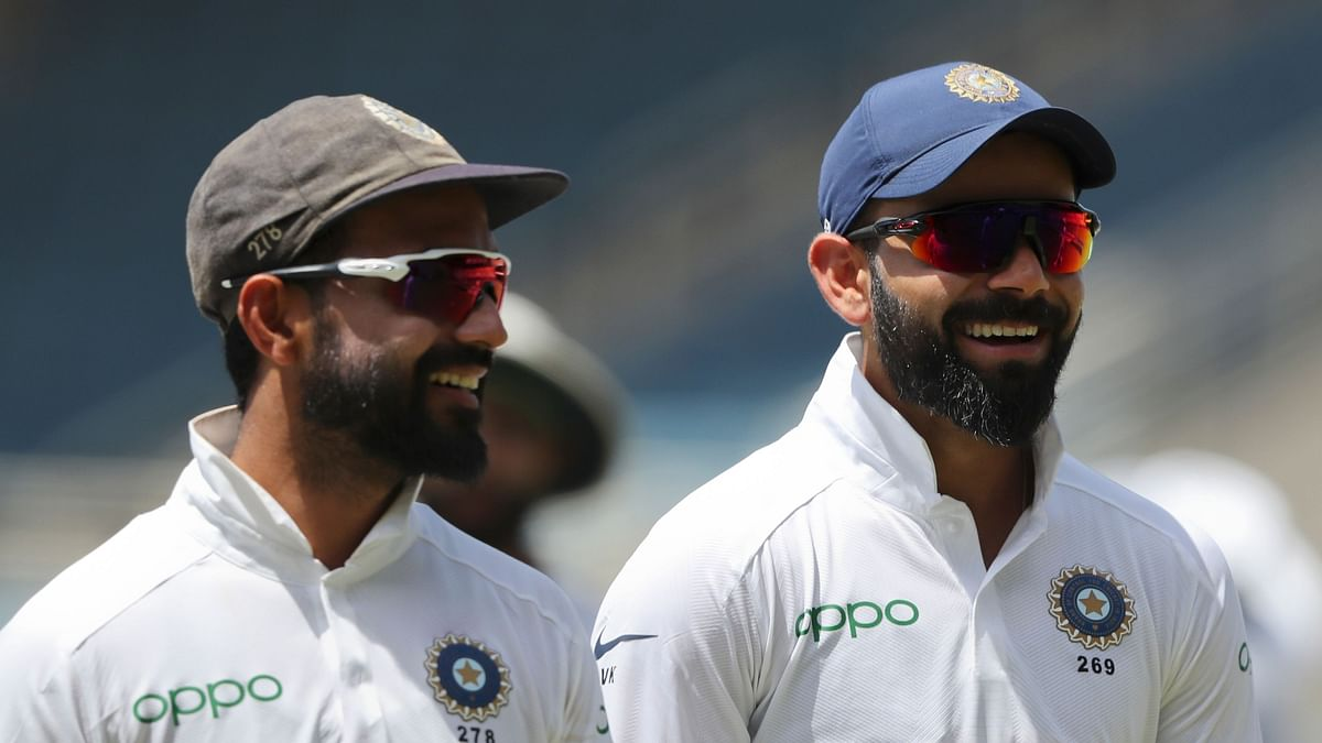 Skipper Virat Kohli and vice-captain Ajinkya Rahane will be the first to arrive in Kolkata on Tuesday morning ahead of India's first ever Day/Night Test.