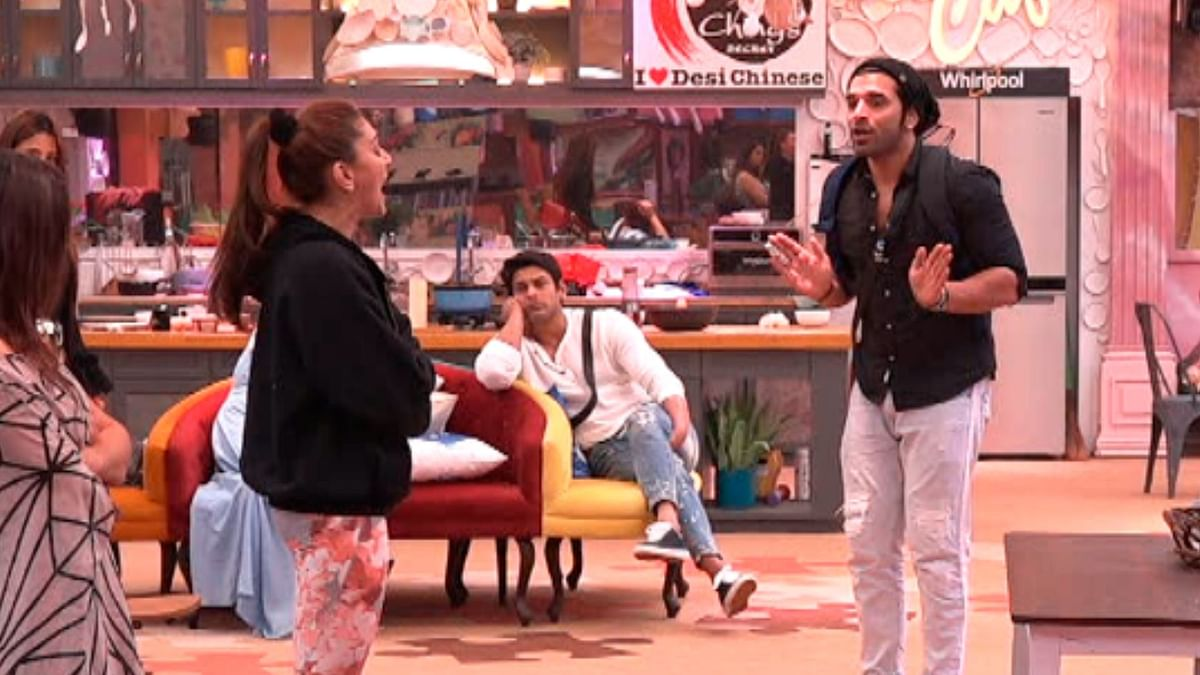 Shefali and Paras got into a full-blown fight in the <i>Bigg Boss </i>house.