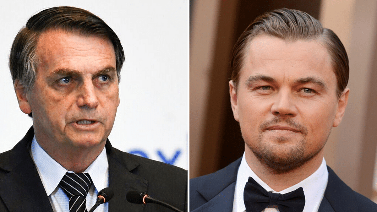 'Giving Money to Set Amazon on Fire': Brazil Prez Attacks DiCaprio