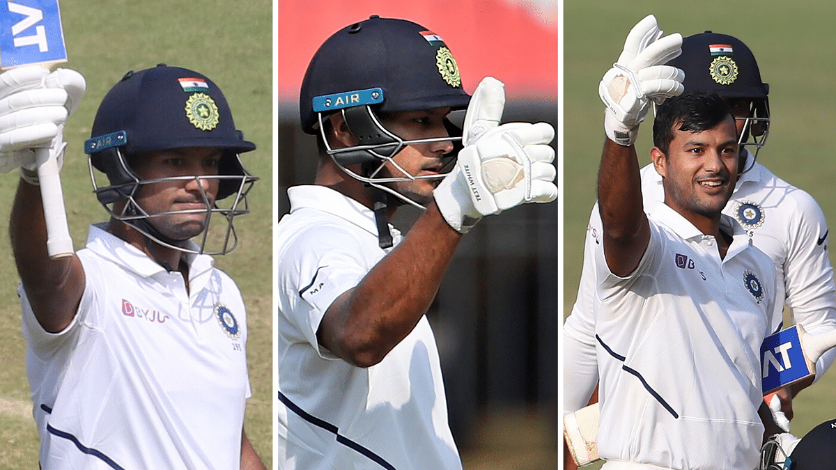 Virat Gestures Mayank to Score Double Century, the Opener Obliges