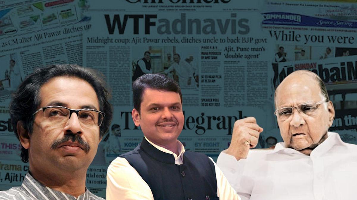 Here's How Newspaper Headlines Made Sense of Maharashtra Madness