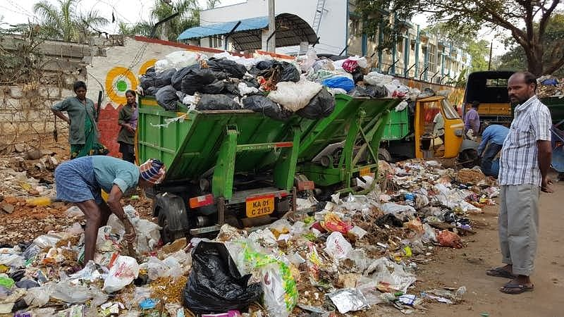 Bengaluru's civic body is spending Rs 20 crore on installing CCTV cameras to monitor reckless waste disposal.