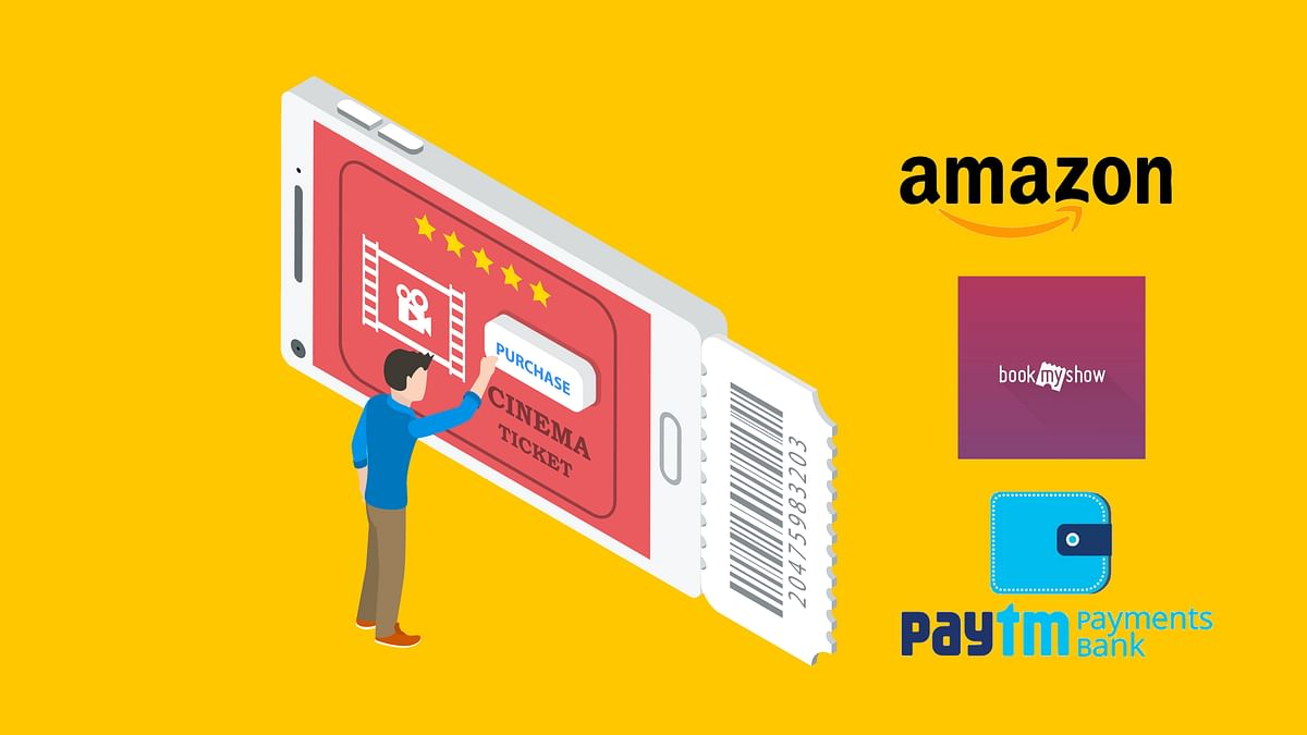 Amazon Takes On Paytm, Let's You Book Movie Tickets Online