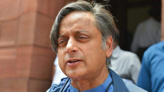 BJP Slams Tharoor Over Praise for US Lawmaker on J&K Resolution