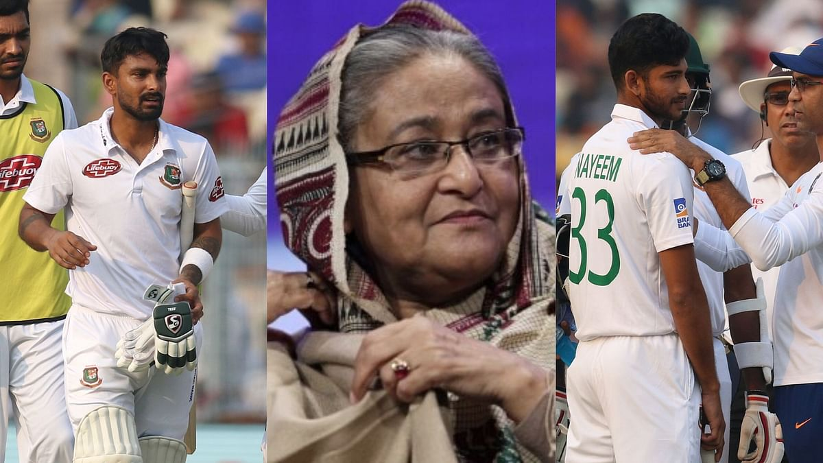 Mehidy Hasan and Taijul Islam were named concussion substitutes for Liton and Nayeem respectively.